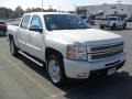 2012 White Diamond Tricoat Chevrolet Silverado 1500 LTZ Crew Cab 4x4  photo #5