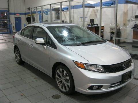 2012 Honda Civic Si Sedan Data, Info And Specs