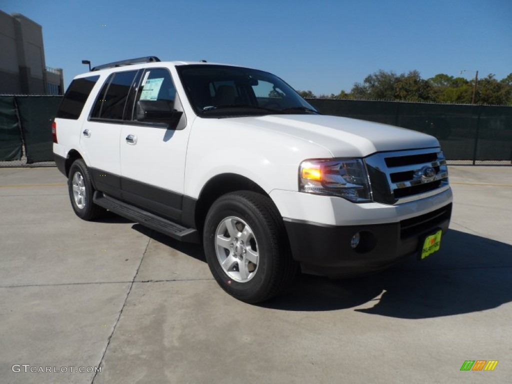 2012 oxford white ford expedition xl 55875077 car color galleries. Black Bedroom Furniture Sets. Home Design Ideas