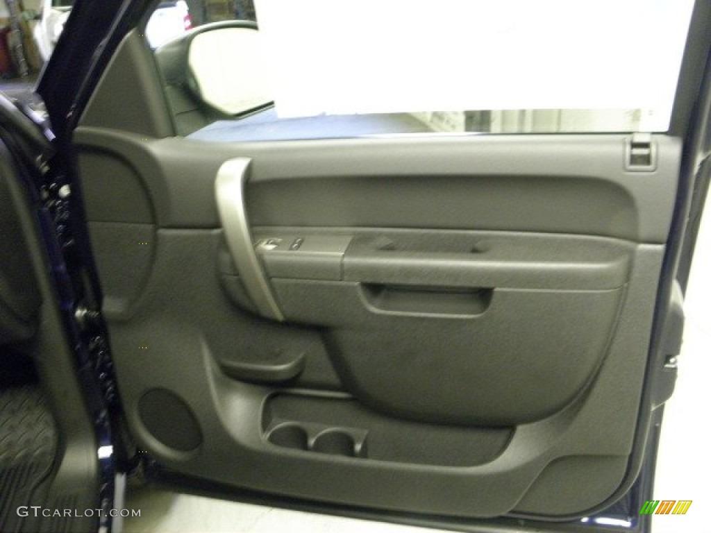 2012 Silverado 1500 LT Extended Cab 4x4 - Imperial Blue Metallic / Ebony photo #6