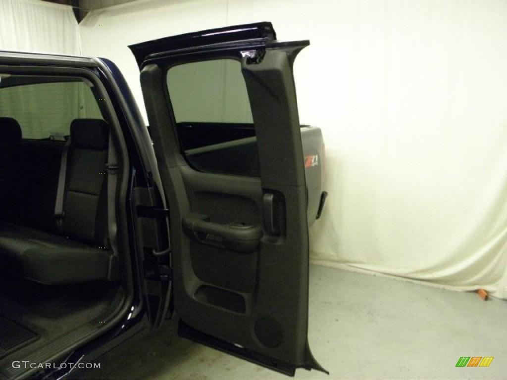 2012 Silverado 1500 LT Extended Cab 4x4 - Imperial Blue Metallic / Ebony photo #12