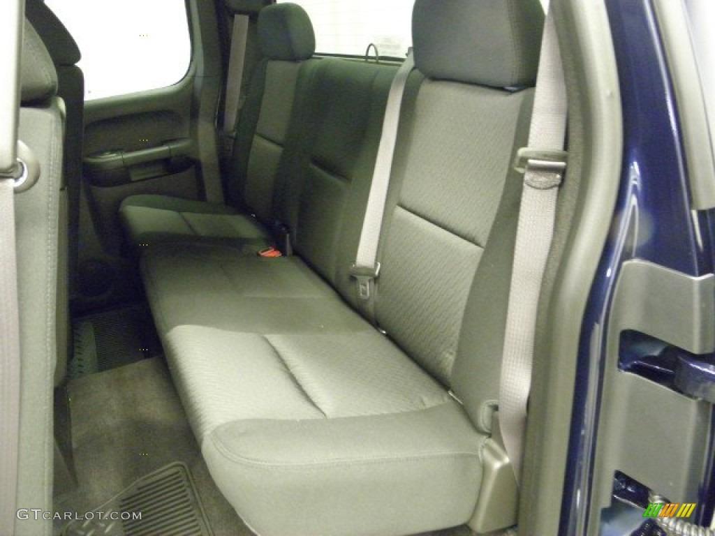2012 Silverado 1500 LT Extended Cab 4x4 - Imperial Blue Metallic / Ebony photo #13