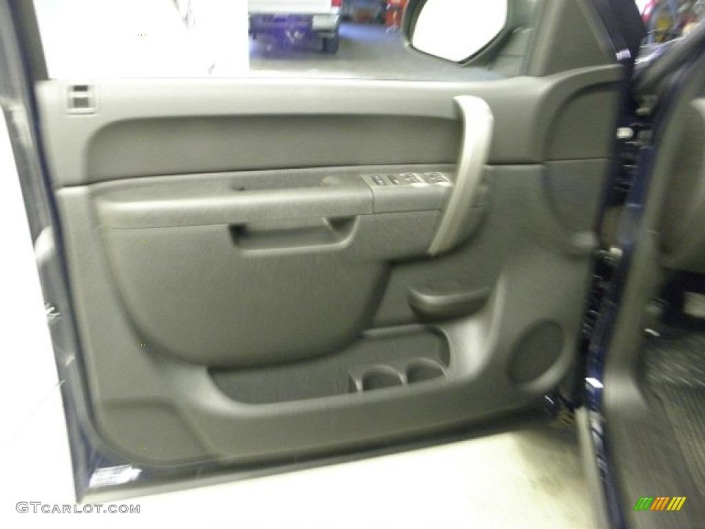 2012 Silverado 1500 LT Extended Cab 4x4 - Imperial Blue Metallic / Ebony photo #14