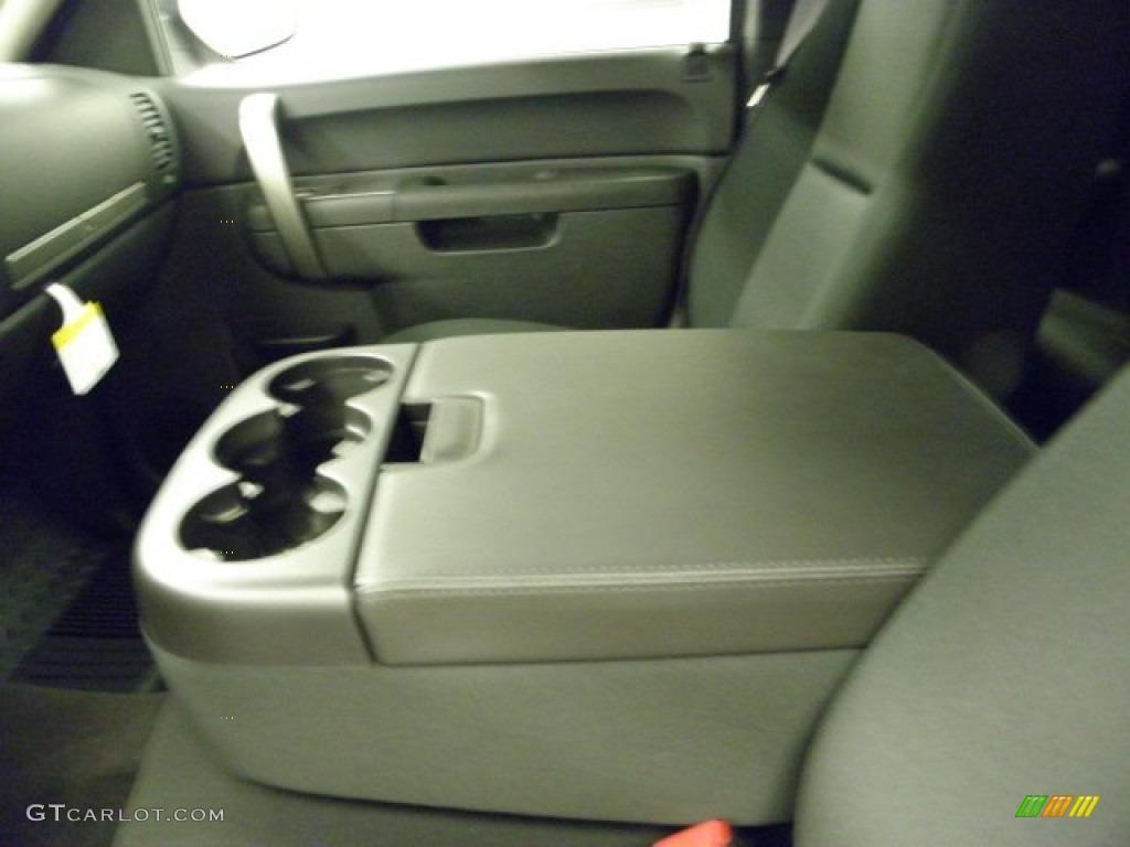 2012 Silverado 1500 LT Extended Cab 4x4 - Imperial Blue Metallic / Ebony photo #23
