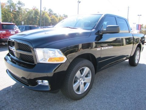 2012 dodge ram 1500 express crew cab data info and specs. Black Bedroom Furniture Sets. Home Design Ideas