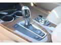 2012 BMW X3 Sand Beige Interior Transmission Photo