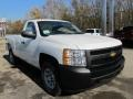 2012 Summit White Chevrolet Silverado 1500 Work Truck Regular Cab 4x4  photo #5