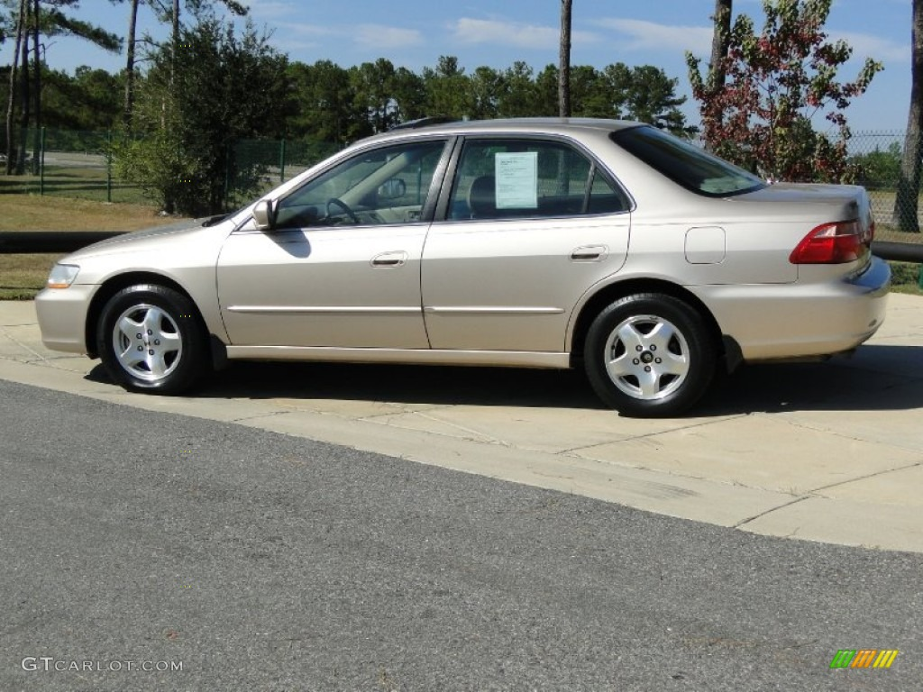 2000 naples gold metallic honda accord ex v6 sedan for Honda accord v6 sedan