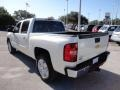 2011 White Diamond Tricoat Chevrolet Silverado 1500 LTZ Crew Cab  photo #3