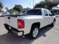 2011 White Diamond Tricoat Chevrolet Silverado 1500 LTZ Crew Cab  photo #8