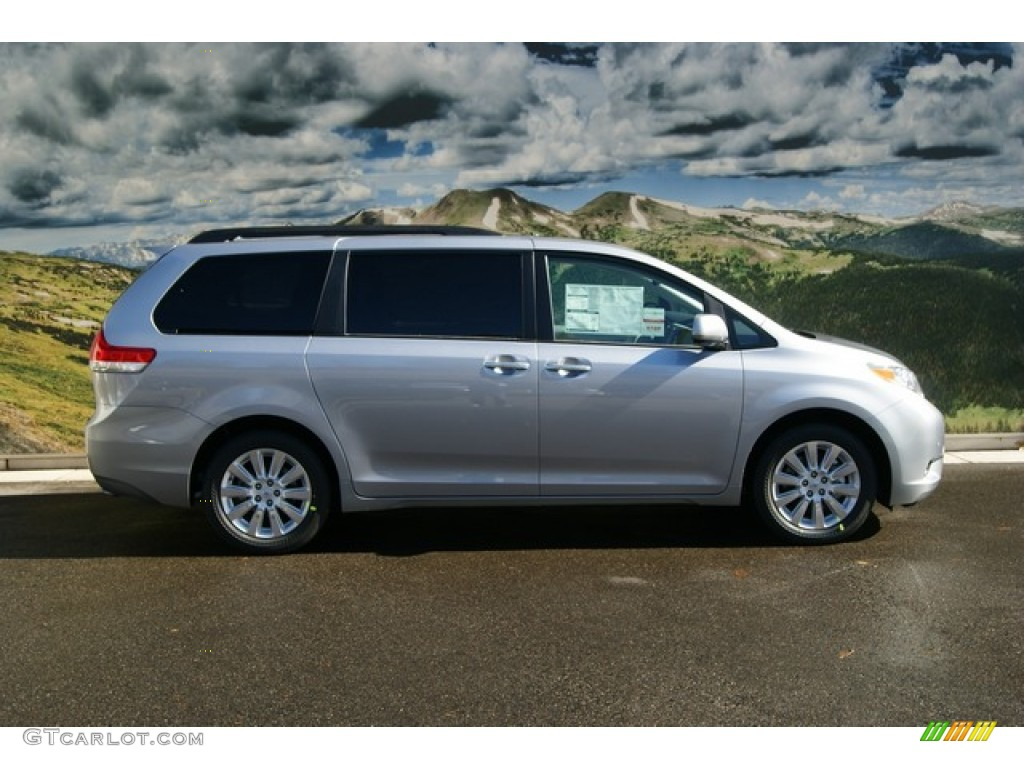 2012 Sienna Limited AWD - Silver Sky Metallic / Light Gray photo #2