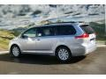 2012 Silver Sky Metallic Toyota Sienna Limited AWD  photo #3