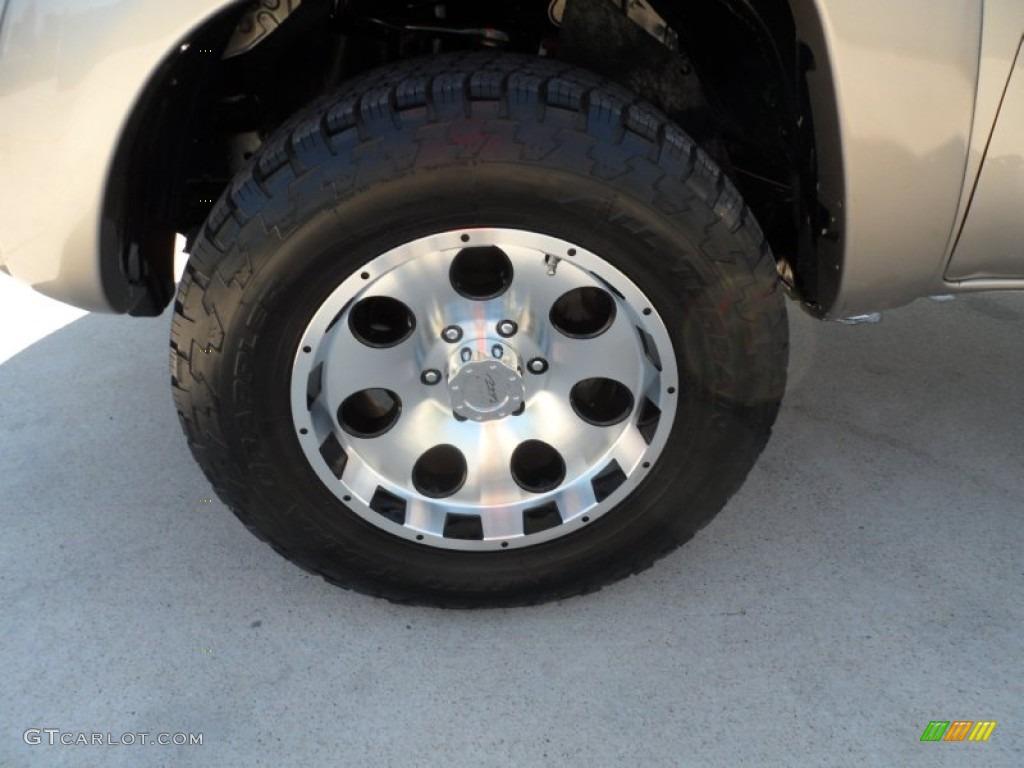 2005 toyota tacoma v6 double cab 4x4 custom wheels photo. Black Bedroom Furniture Sets. Home Design Ideas