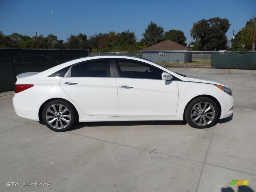 shimmering white 2012 hyundai sonata limited 2 0t exterior photo 55952884. Black Bedroom Furniture Sets. Home Design Ideas