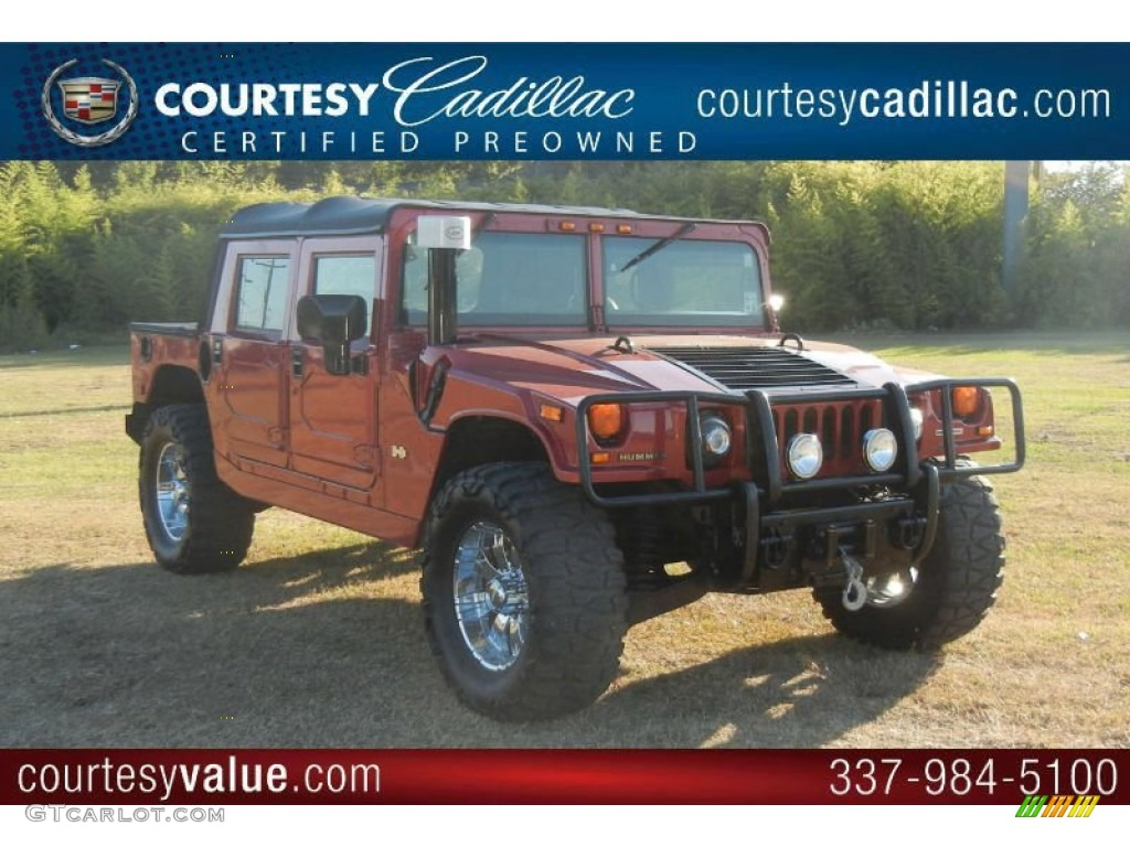 2006 flame red pearl hummer h1 alpha open top 55906272 photo 5 flame red pearl hummer h1 vanachro Choice Image