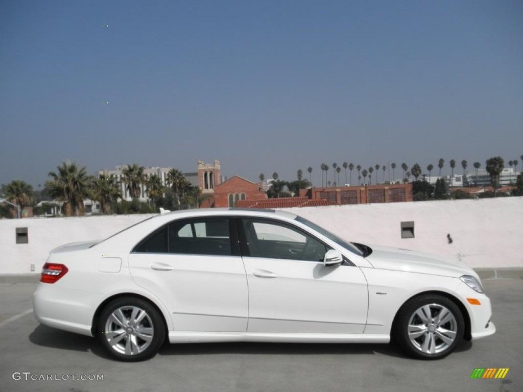 Arctic white 2012 mercedes benz e 350 bluetec sedan for 2012 mercedes benz e350 bluetec