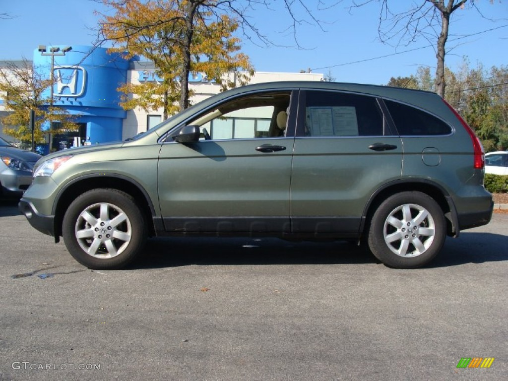 2009 green tea metallic honda cr v ex 4wd 55957057 photo