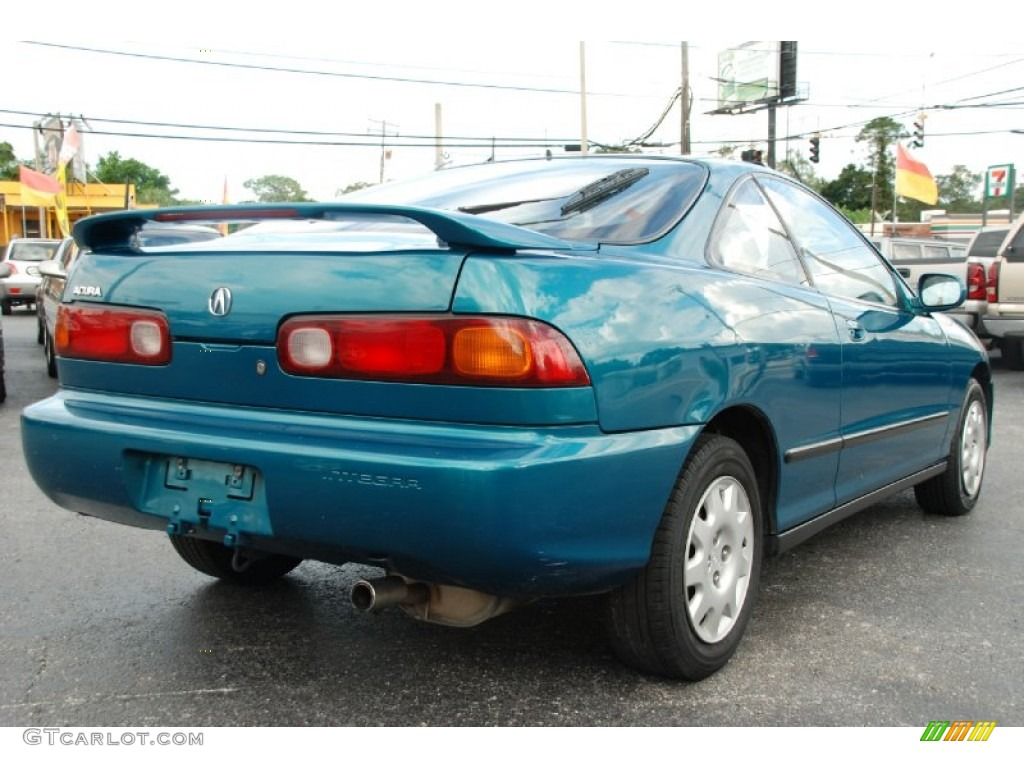 Paradise Blue Green Pearl 1994 Acura Integra LS Coupe ...