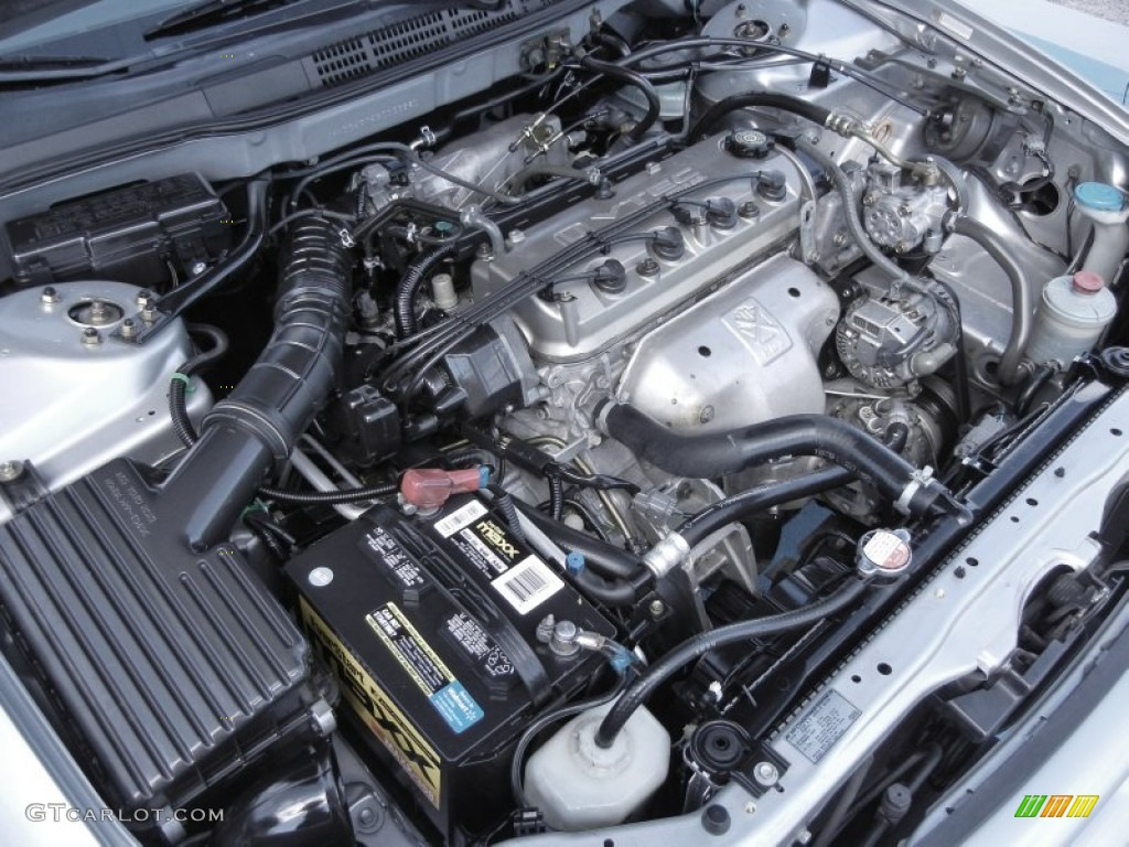 2002 Honda Accord Se Sedan 2 3 Liter Sohc 16 Valve Vtec 4