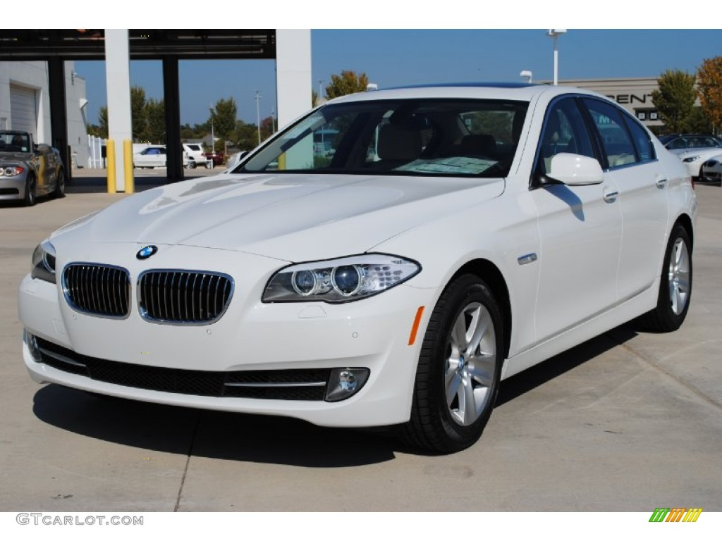 Alpine white 2012 bmw 5 series 528i sedan exterior photo 55974574 gtcarlot com
