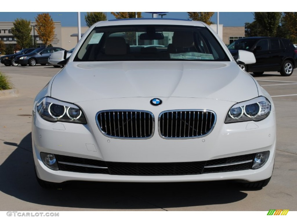 Bmw Exterior: Alpine White 2012 BMW 5 Series 528i Sedan Exterior Photo
