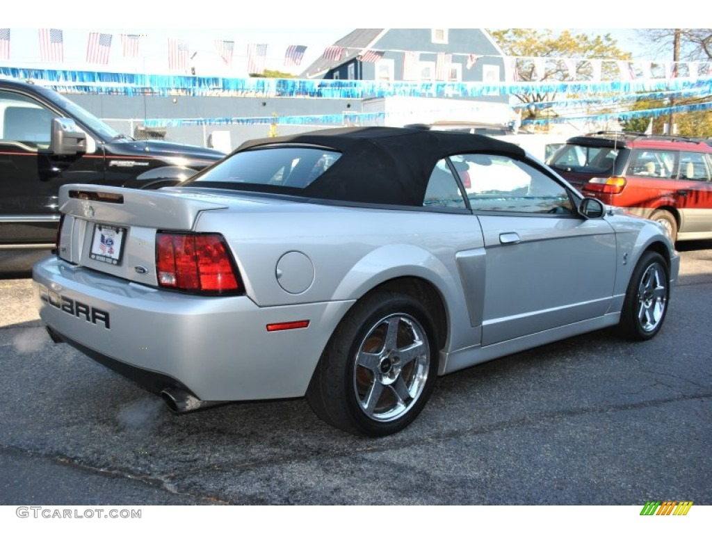 silver metallic 2003 ford mustang cobra convertible. Black Bedroom Furniture Sets. Home Design Ideas