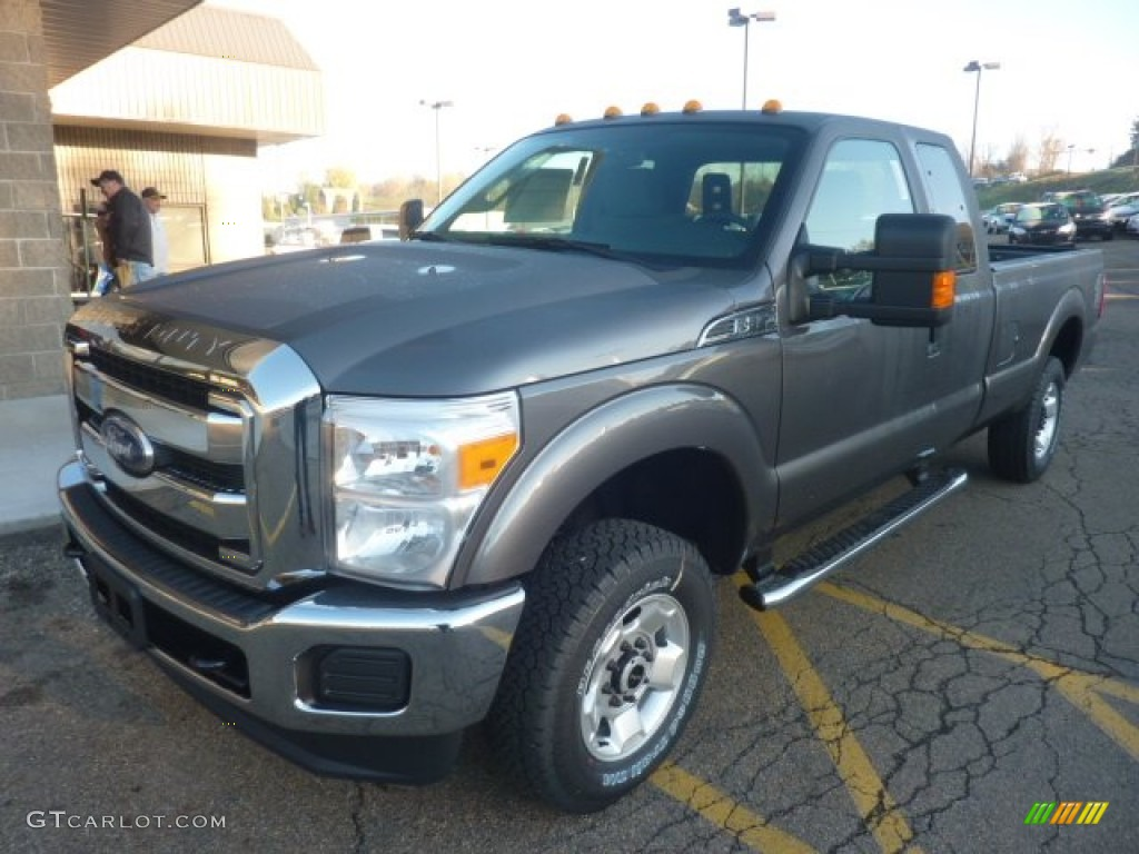 sterling grey metallic 2012 ford f250 super duty xlt supercab 4x4 exterior photo 55982270. Black Bedroom Furniture Sets. Home Design Ideas