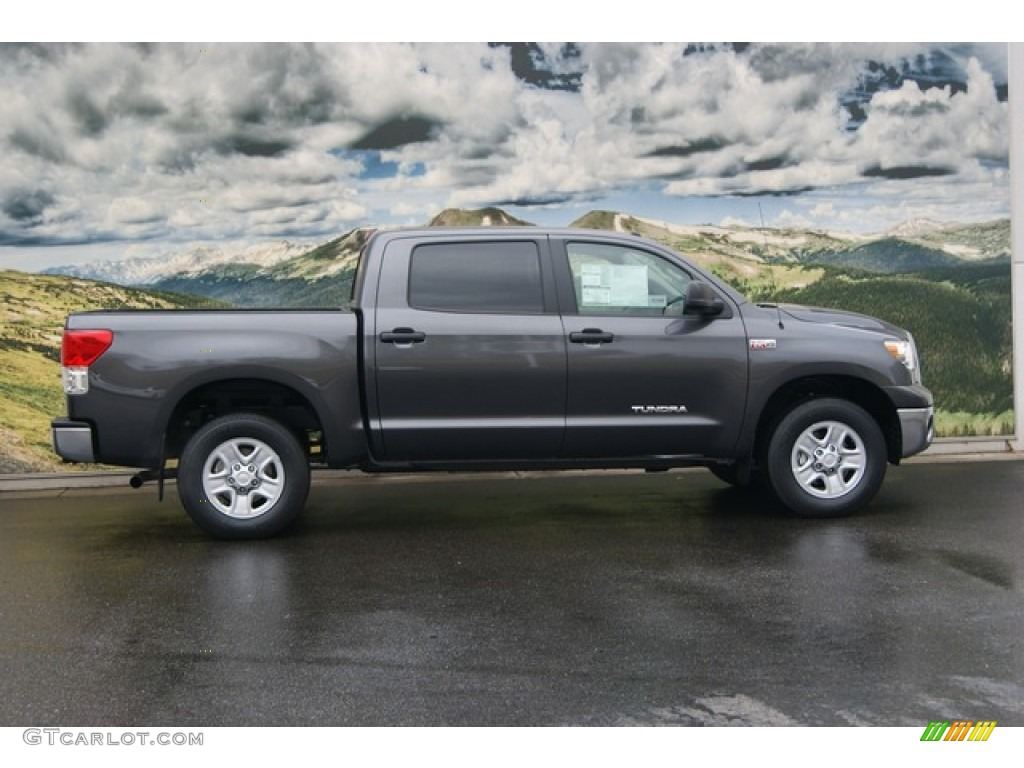 magnetic gray metallic 2012 toyota tundra crewmax 4x4 exterior photo 55996459. Black Bedroom Furniture Sets. Home Design Ideas