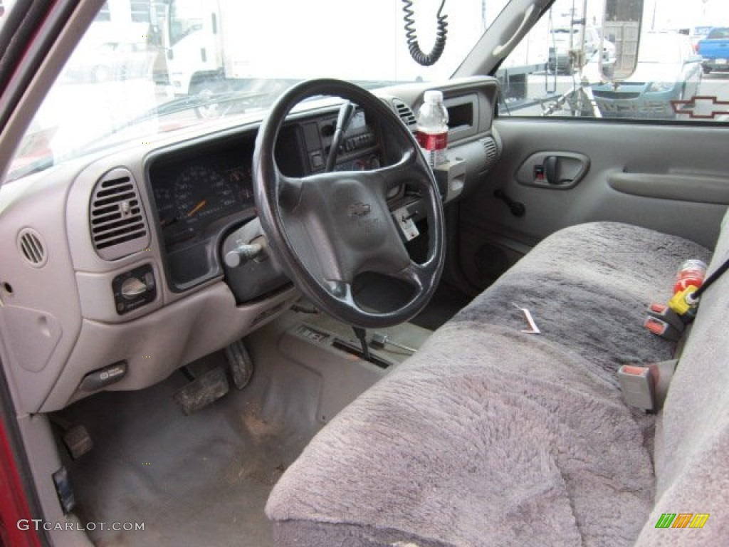 Beautiful 1998 Chevrolet C/K 3500 K3500 Regular Cab 4x4 Dump Truck Interior Photo  #55998055