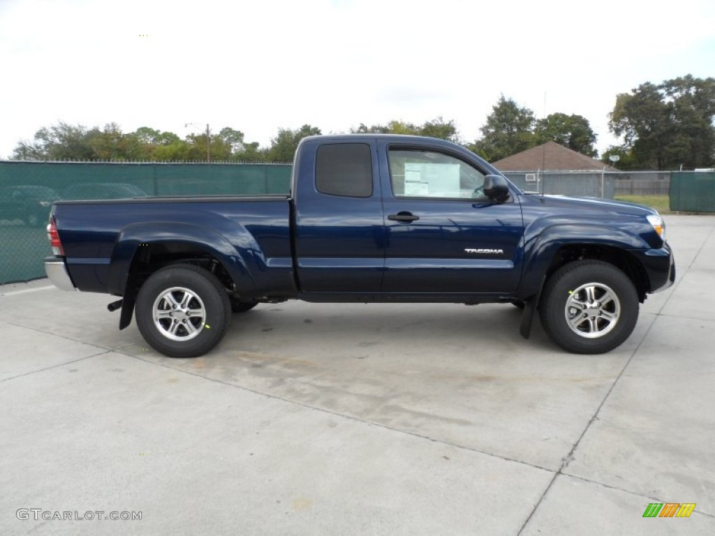 2012 nautical blue metallic toyota tacoma v6 sr5 prerunner access cab 55956594 photo 2. Black Bedroom Furniture Sets. Home Design Ideas