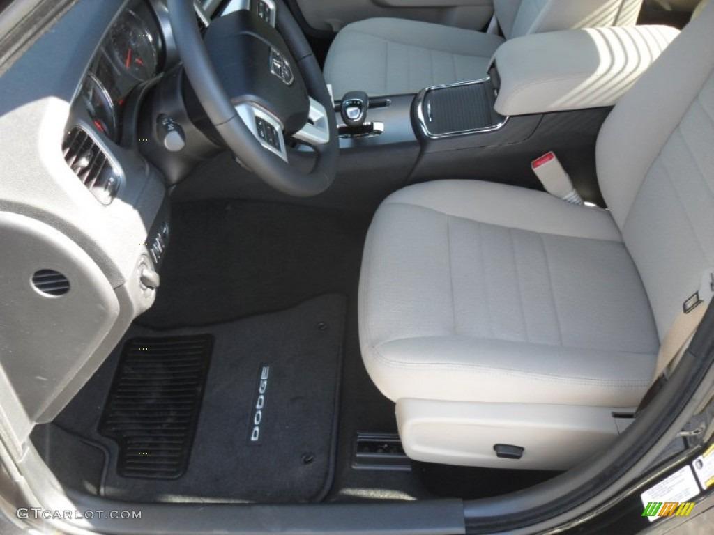 Black Light Frost Beige Interior 2012 Dodge Charger Se Photo 56005012