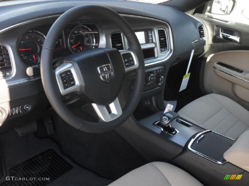 Black Light Frost Beige Interior 2012 Dodge Charger Se Photo 56005123