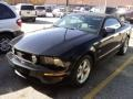 2007 Black Ford Mustang GT Premium Convertible  photo #1