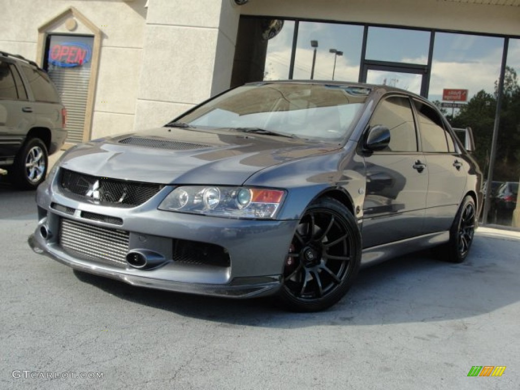 2006 graphite gray mitsubishi lancer evolution ix mr. Black Bedroom Furniture Sets. Home Design Ideas