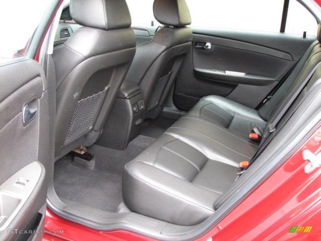 Ebony Interior 2011 Chevrolet Malibu Ltz Photo 56010241