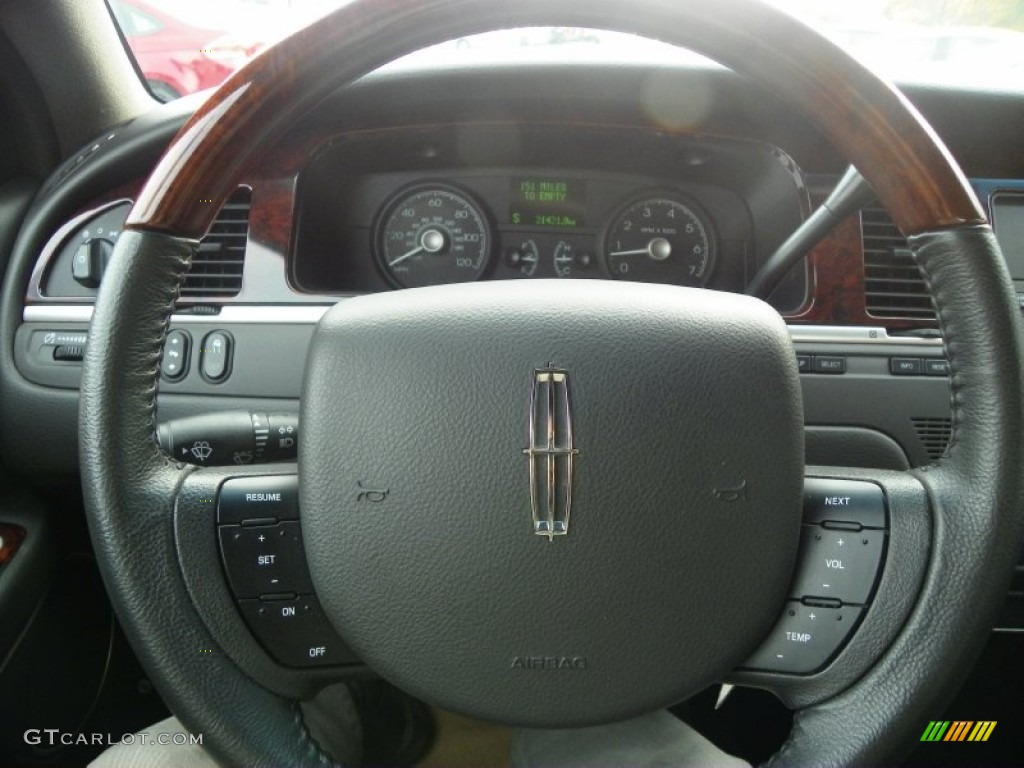 2010 lincoln town car signature limited steering wheel photos. Black Bedroom Furniture Sets. Home Design Ideas