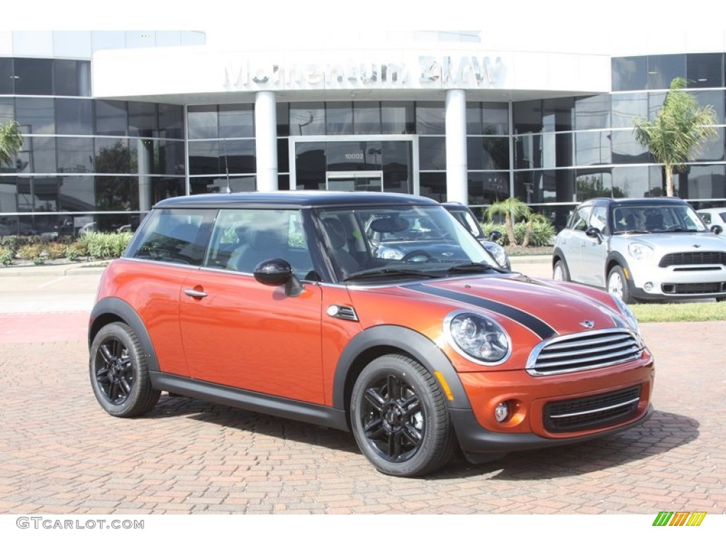 2012 spice orange metallic mini cooper hardtop 56013914 photo 8 car color. Black Bedroom Furniture Sets. Home Design Ideas