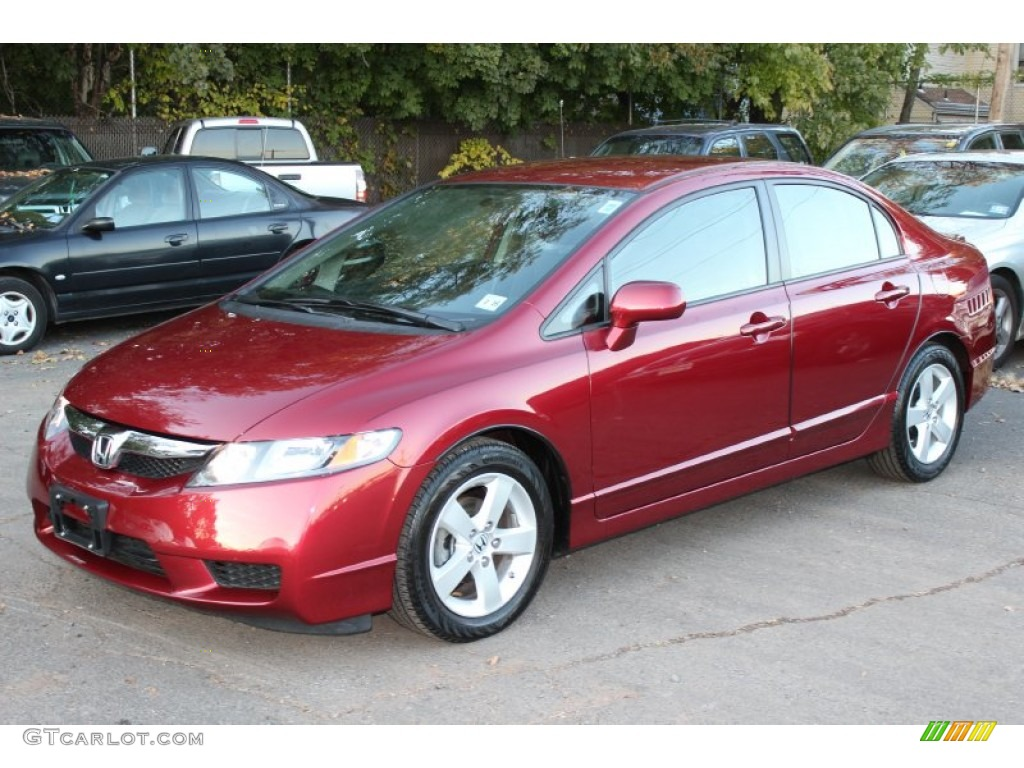 Tango Red Pearl Honda Civic. Honda Civic LX S Sedan