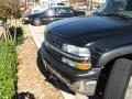 2002 Onyx Black Chevrolet Silverado 1500 LS Extended Cab 4x4  photo #4