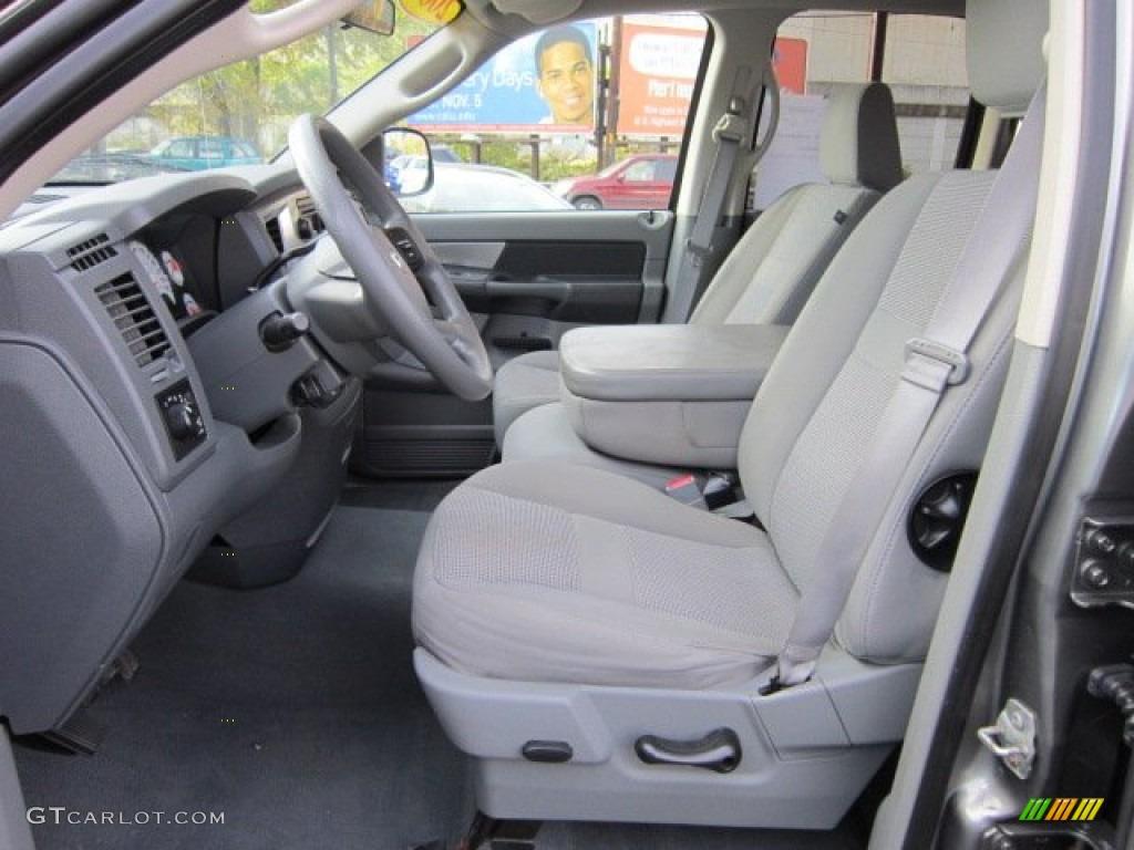 2008 Ram 1500 Big Horn Edition Quad Cab 4x4 - Mineral Gray Metallic / Medium Slate Gray photo #10