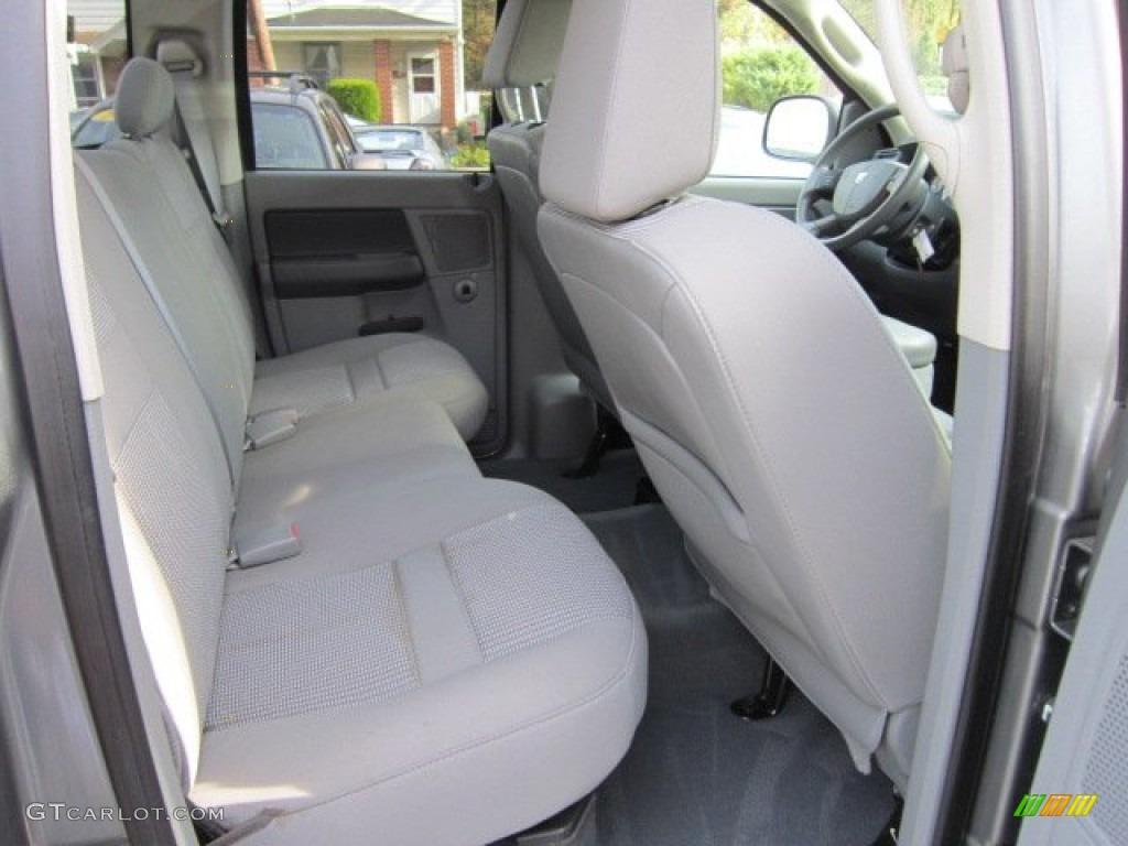 2008 Ram 1500 Big Horn Edition Quad Cab 4x4 - Mineral Gray Metallic / Medium Slate Gray photo #17