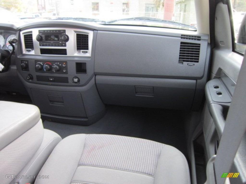 2008 Ram 1500 Big Horn Edition Quad Cab 4x4 - Mineral Gray Metallic / Medium Slate Gray photo #18