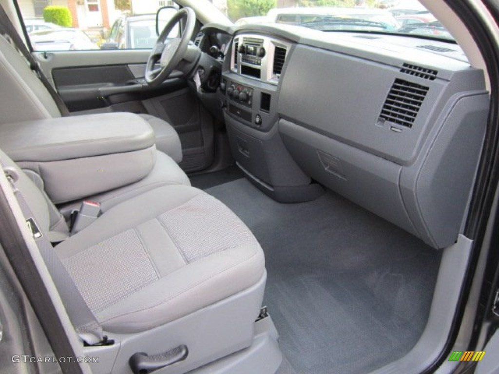 2008 Ram 1500 Big Horn Edition Quad Cab 4x4 - Mineral Gray Metallic / Medium Slate Gray photo #20