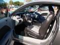 2009 Ford Mustang Black/Steel Interior Interior Photo