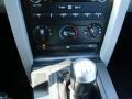 2009 Ford Mustang Black/Steel Interior Transmission Photo
