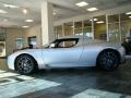 Sterling Silver 2008 Tesla Roadster