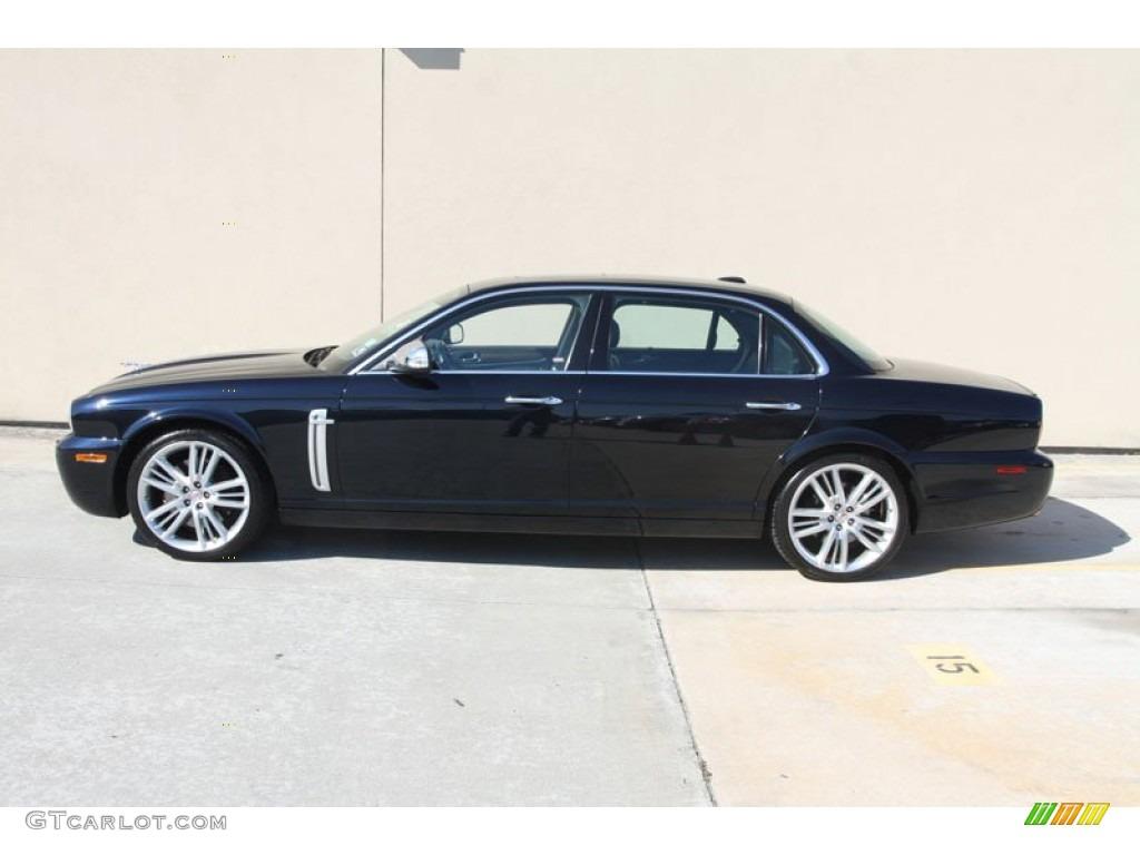 Celestial black 2009 jaguar xj super v8 portfolio exterior for Jaguar xj exterior