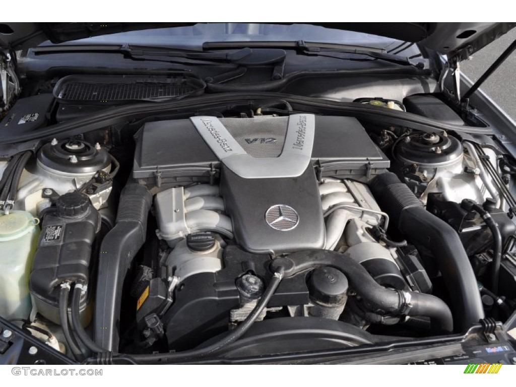 2001 mercedes benz cl 600 5 8 liter sohc 36 valve v12 for Mercedes benz v12 engine