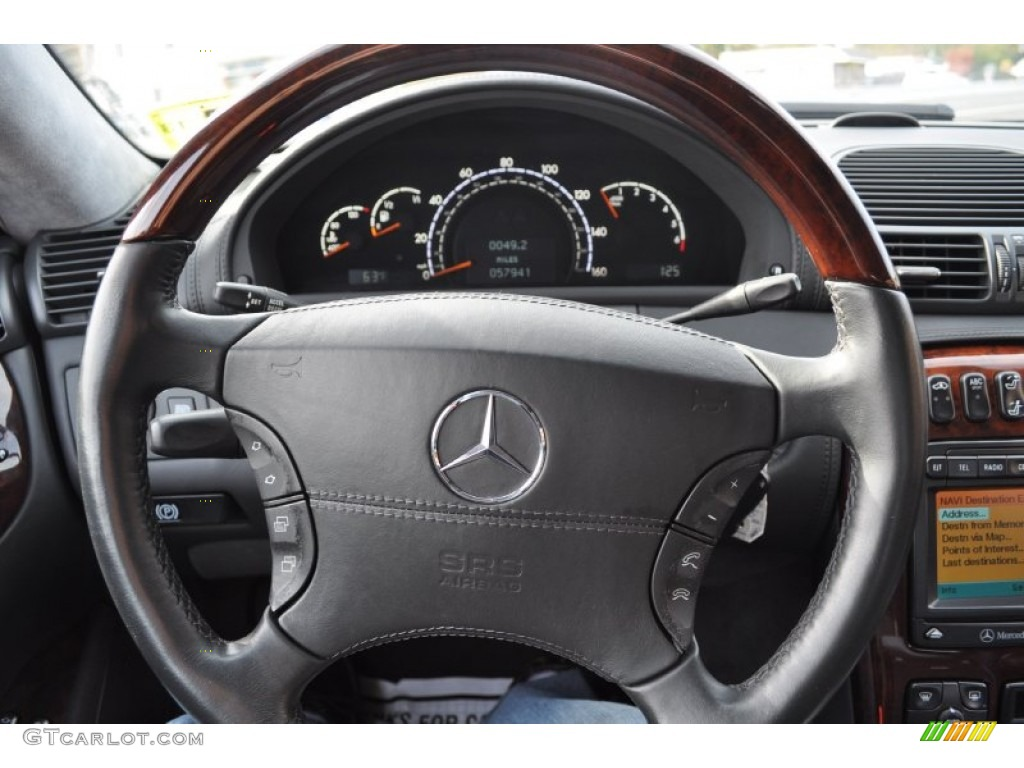 2001 mercedes benz cl 600 steering wheel photos for Mercedes benz steering wheel control buttons