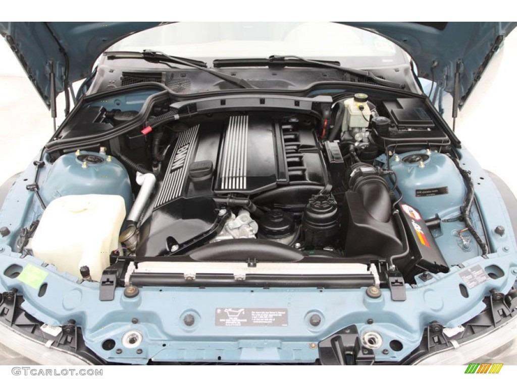 2002 Bmw Z3 3 0i Roadster 3 0l Dohc 24 Valve Inline 6